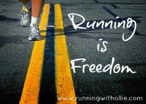 running is freedom