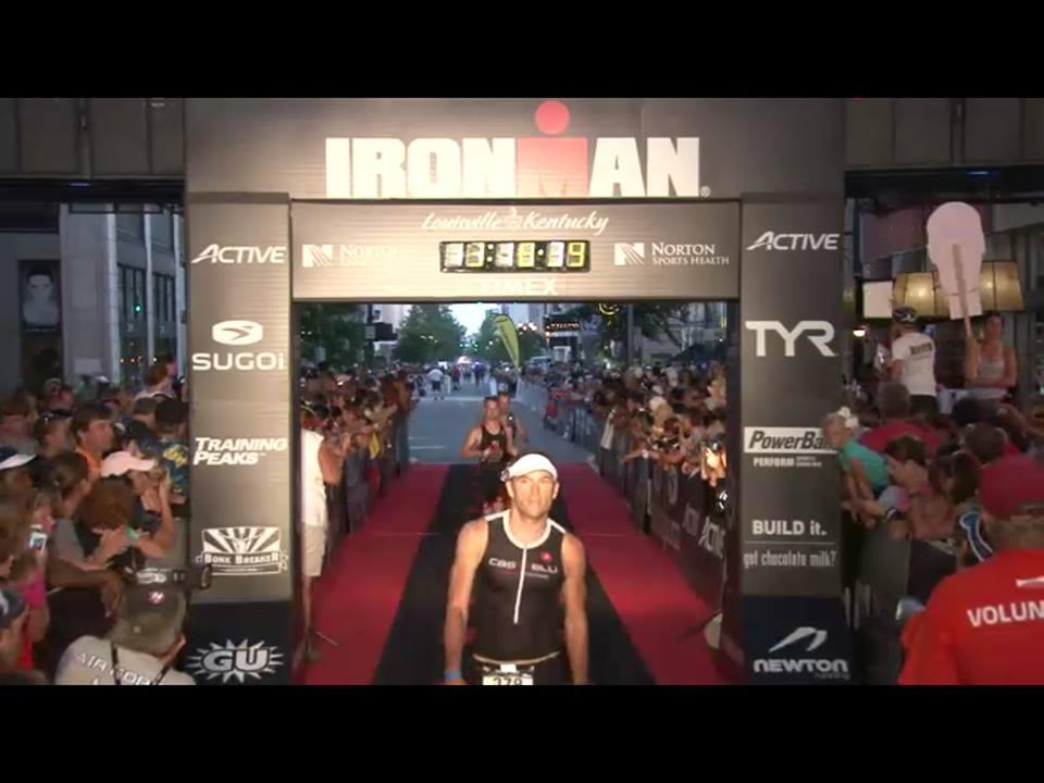 Ironman Louisville Finish Line