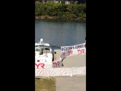 VIDEO: Ironman Chattanooga Swim Current