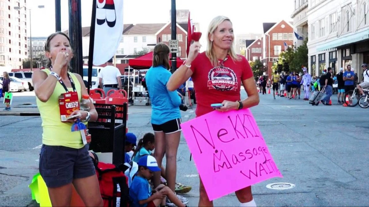 Ironman Louisville Run Highlights (Video)